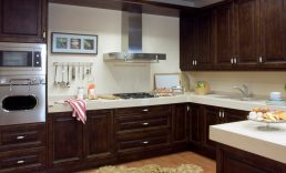kitchens with doors square corners and an ogee edge